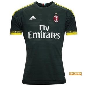 ac milan 3e shirt kids 2015-2016
