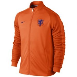 nike oranje trainingsjack