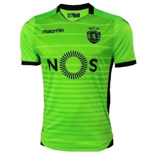 sporting portugal 3e shirt groen 2016-2017