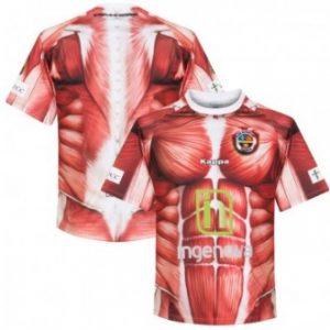 voetbalshirt spieren club deportivo palencia