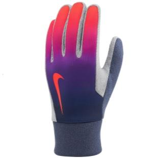nike voetbal handschoenen speler paars