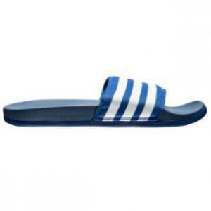 adidas slipper blauw duramo