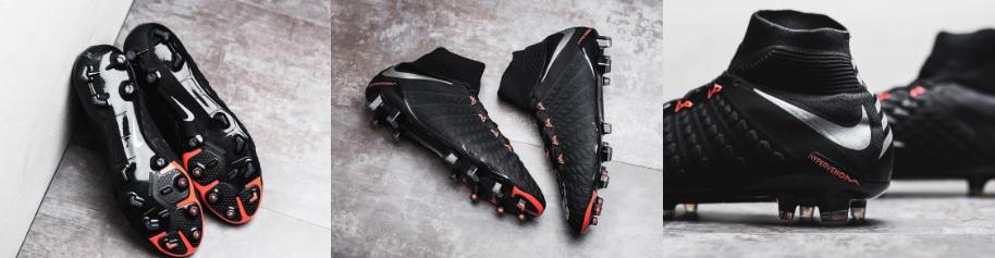 voetbalschoenen nike hypervenom 3 zwart