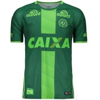 chapecoense shirt als steun voor de club