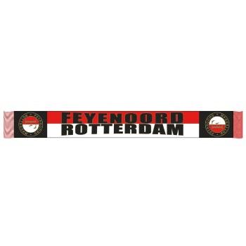 feyenoord rotterdam sjaal rood wit zwart