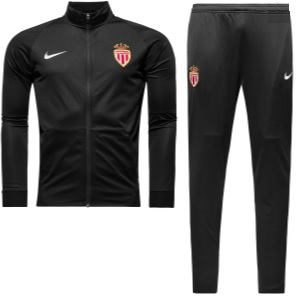 as monaco trainingspak zwart 2017-2018