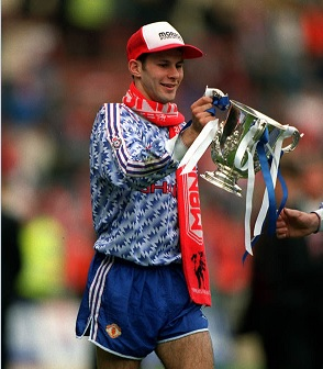 manchester united uittenue van 1990-1992