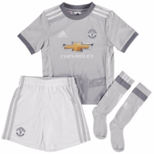 manchester united 3e tenue mini 2017-2018