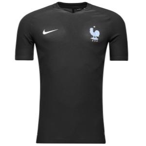 frankrijk voetbalshirt zwart 2017-2018