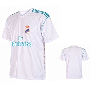 real madrid replica shirt