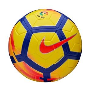 la liga voetbal nike geel paars rood