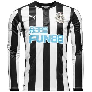 newcastle united shirt sleeve 2017-2018