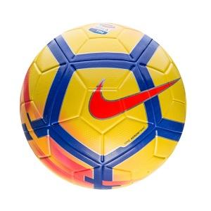 serie a voetbal nike geel rood