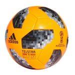 world cup 2018 wedstrijdbal oranje grijs