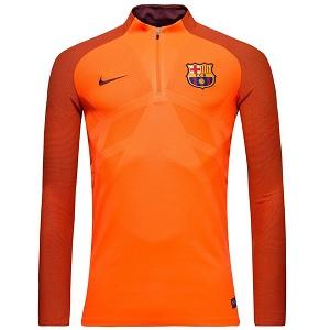 barcelona trainingsshirt lange mouwen 2018-19