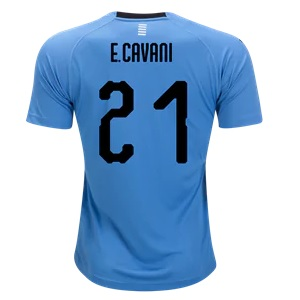 edinson cavani uruguay shirt 2018-19