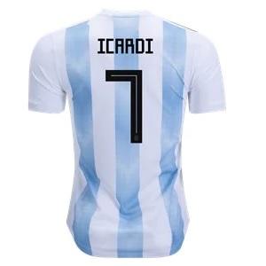 icardi thuisshirt argentinie 2018-2019