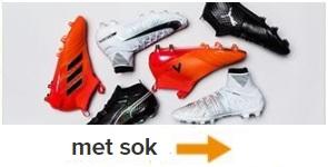 voetbalschoenen met sok