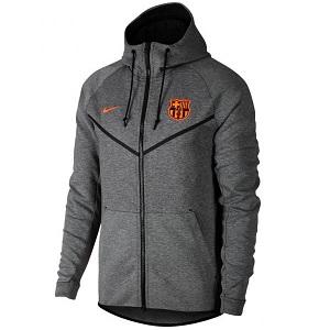 fc barcelona hoodie windrunner 2018