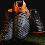 nike fast af voetbalschoenen zwart oranje