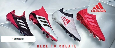 adidas here to create rood wit zwart