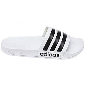 adidas slippers originals wit