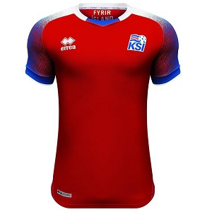 ijsland keepersshirt 2018-2019