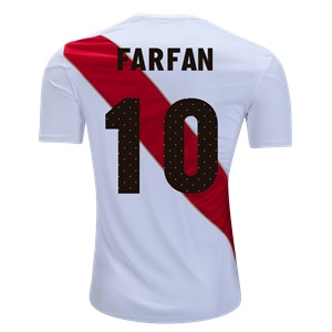 peru farfan thuisshirt 2018-2019