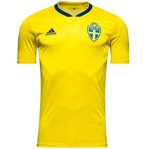 zweden thuisshirt world cup 2018