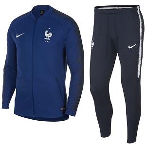 frankrijk trainingspak blauw 2018-2020