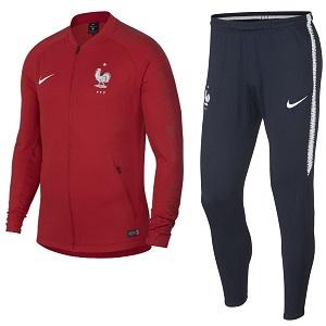 frankrijk trainingspak rood 2018-2019