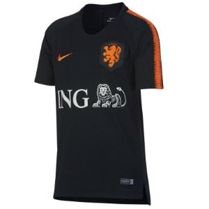 nederland trainingsshirt zwart 2018-2019