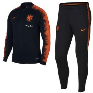nederlands elftal trainingspak zwart 2018-2019