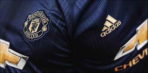 manchester united europees 3e tenue 18-19