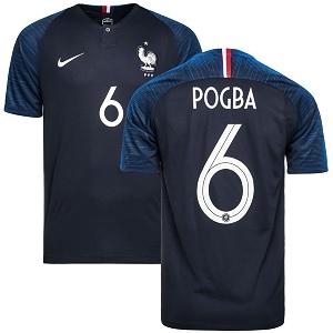 pogba frankrijk thuisshirt 2018-19