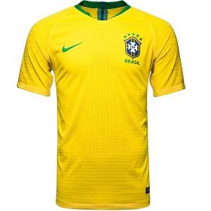 brazilie wk thuisshirt 2018-2019