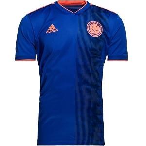 colombia uitshirt blauw 2018-2019