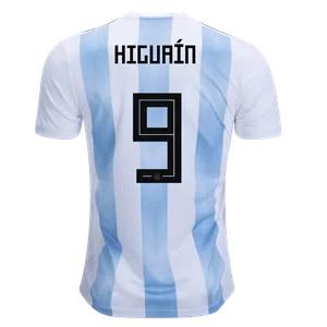 higuain argentinie thuisshirt 2018-19
