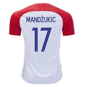 mandzukic kroatie thuisshirt 2018-19