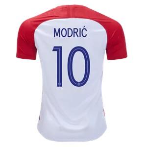 modric kroatie thuisshirt 2018-19