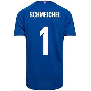 schmeichel denemarken keepersshirt 2018-19