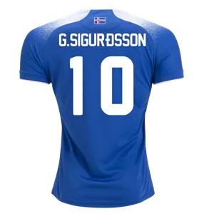 sigurdsson ijsland thuisshirt 2018-19