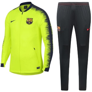 barcelona trainingspak geel 2018-2019