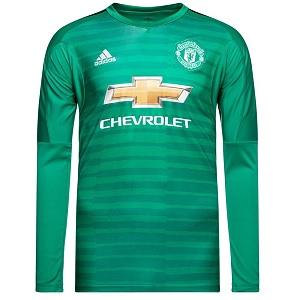 manchester united keepersshirt groen 2018-19
