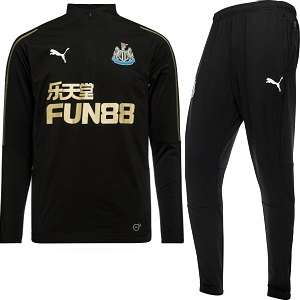 newcastle trainingspak zwart 2018-2019