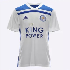 leicester city shirt wit 2018-2019