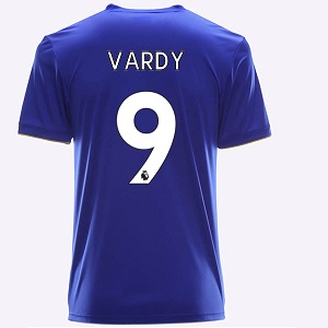 leicester city vardy voetbalshirt