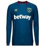 west ham uitshirt long sleeve 2018-19