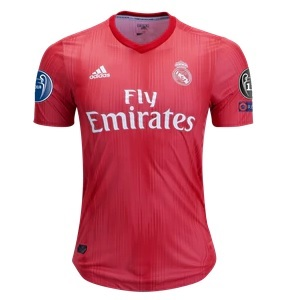 real madrid 3e shirt europa 2018-19