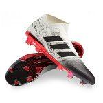 adidas voetbalschoenen nemeziz wit zwart